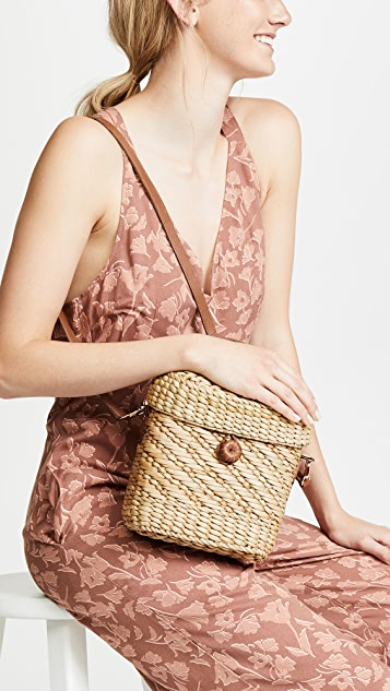 Poolside Bags The Ashleigh Cross Body Bag with Mirror
