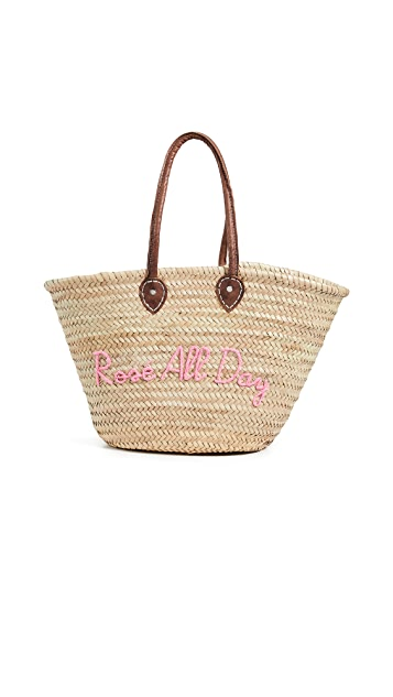 Poolside Bags La Pliage 'Rose All Day' Tote