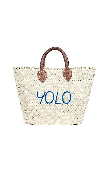 Poolside Bags Le Superette 'Yolo' Medium Tote