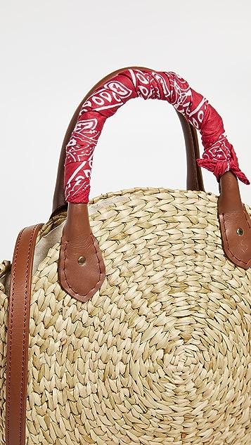 Poolside Bags Объемная сумка с короткими ручками Le Circle Bandana