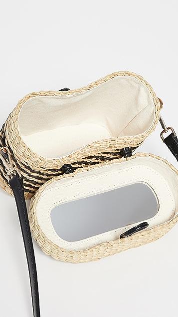 Poolside Bags Ashleigh Mirror 斜挎包