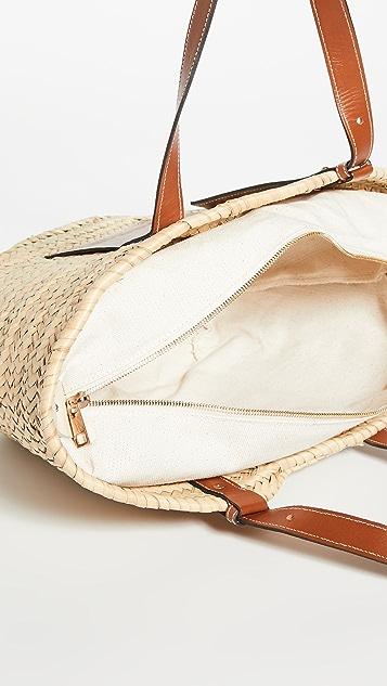 Poolside Bags Объемная пляжная сумка с короткими ручками Essaouira