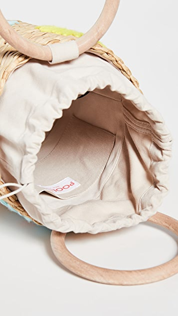 Poolside 包 刺绣水桶包