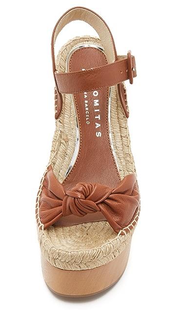 Paloma Barcelo Lola Platform Sandals
