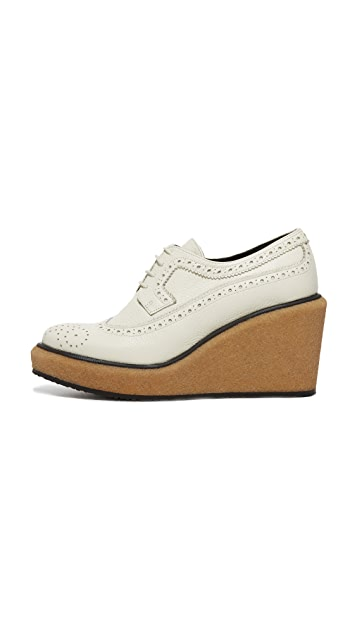 Paloma Barcelo Carolina Platform Oxfords