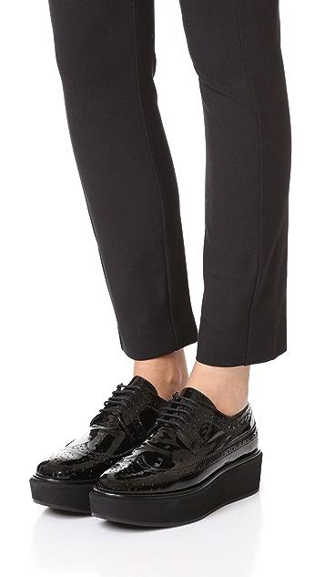 Paloma Barcelo Ботинки на шнурках на платформе Florida