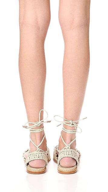 Paloma Barcelo Cruis Flat Sandals