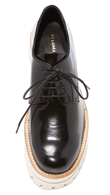 Paloma Barcelo Sunshine Platform Oxfords