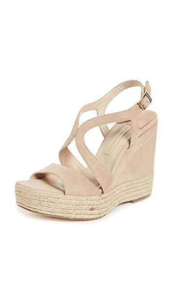 Paloma Barcelo Mafafa Wedge Sandals