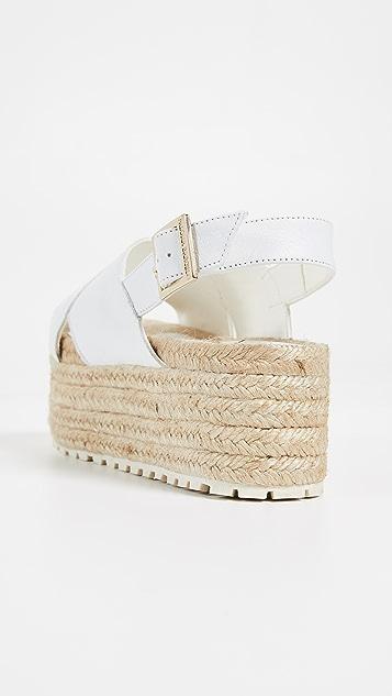Paloma Barcelo Guaria Flatform Espadrille Sandals