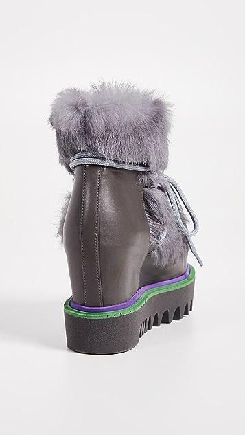 Paloma Barcelo Triangle Boots