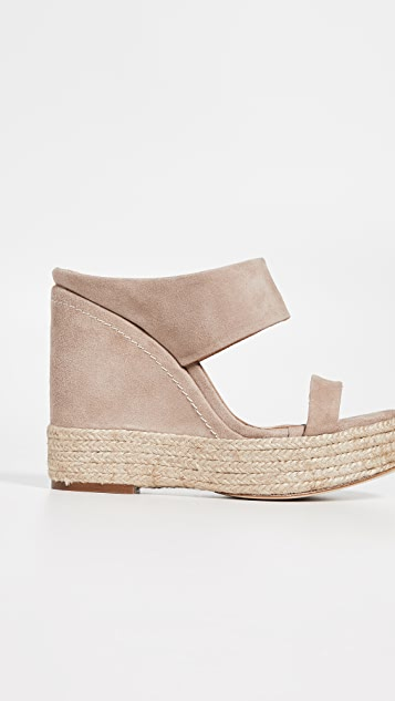 Paloma Barcelo Plantanillo Wedge Mules