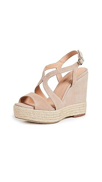 Paloma Barcelo Mafafa 坡跟凉鞋