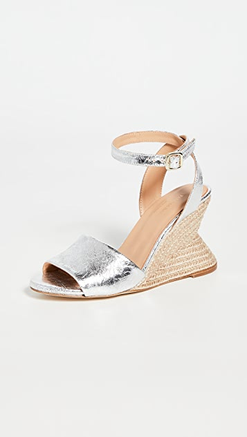 Paloma Barcelo Castula Wedge Sandals