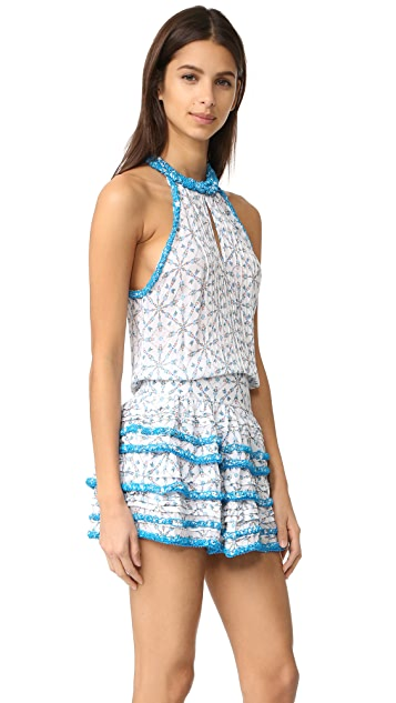 Poupette St Barth Eva Mini Dress