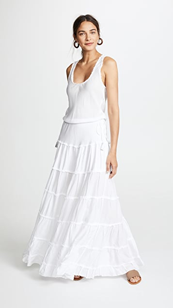 Poupette St Barth Ida Long Dress