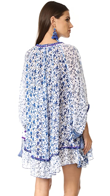 Poupette St Barth Bobo Poncho Dress