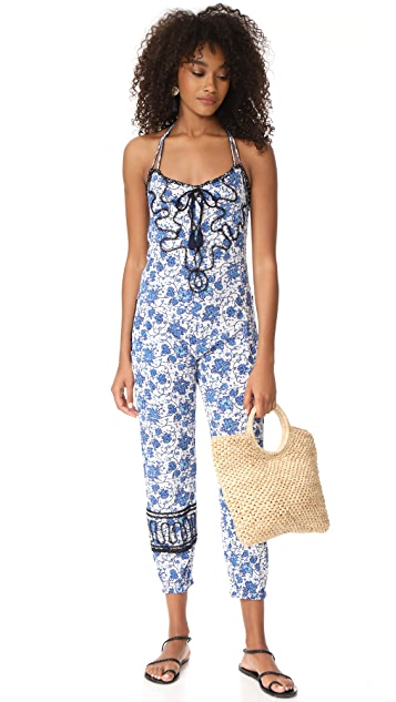 Poupette St Barth Lola Long Jumpsuit