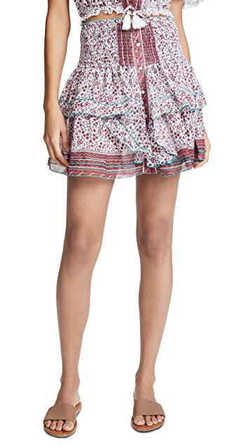 Poupette St Barth Honey Miniskirt