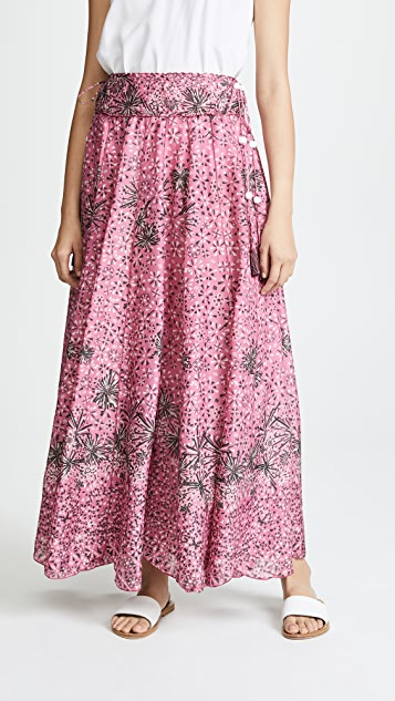 Poupette St Barth Nola Long Skirt