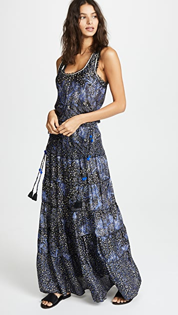 Poupette St Barth Nola Long Dress