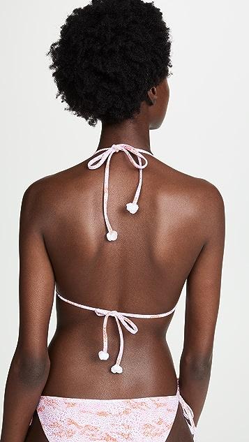 Poupette St Barth Lucy Bikini Top