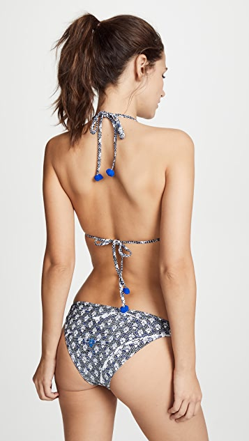 Poupette St Barth Lucy Triangle Bikini Top