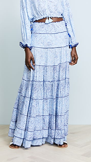 Poupette St Barth Gota Long Skirt
