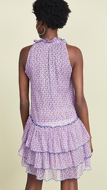 Poupette St Barth Elise Ruffled Mini Dress