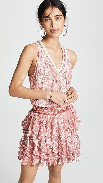 Poupette St Barth Ruffled Beline Dress