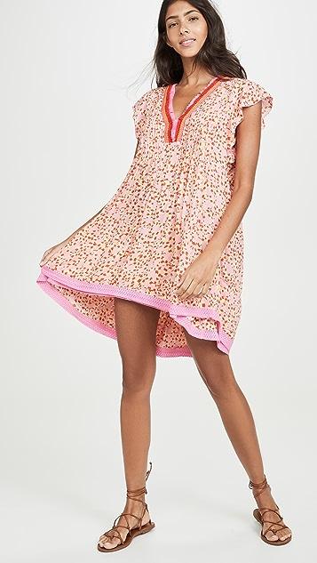 Poupette St Barth Мини-платье Sasha