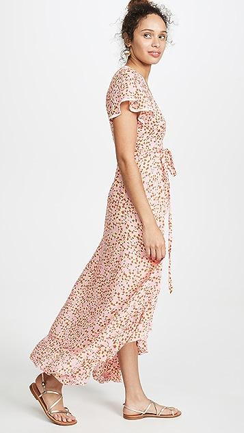 Poupette St Barth Длинное платье Joe