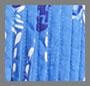 синий батик с изображением ананаса и ромбов