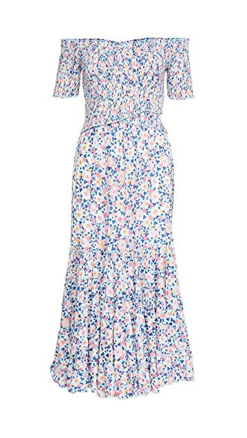 Poupette St Barth Soledad Midi Dress