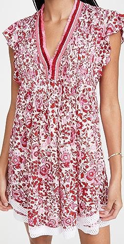 Poupette St Barth - Mini Sasha Lace Trimmed Dress