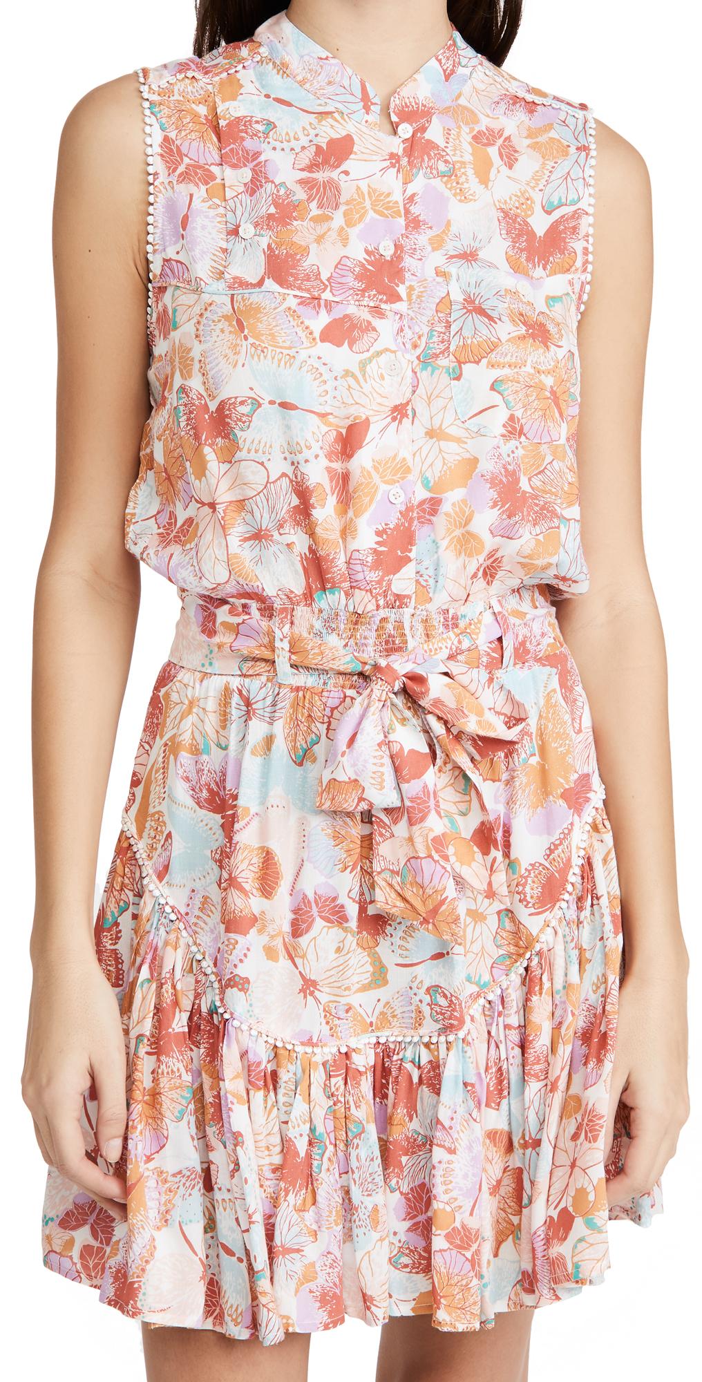 Poupette St Barth Mini Dress Felicia Sleeveless
