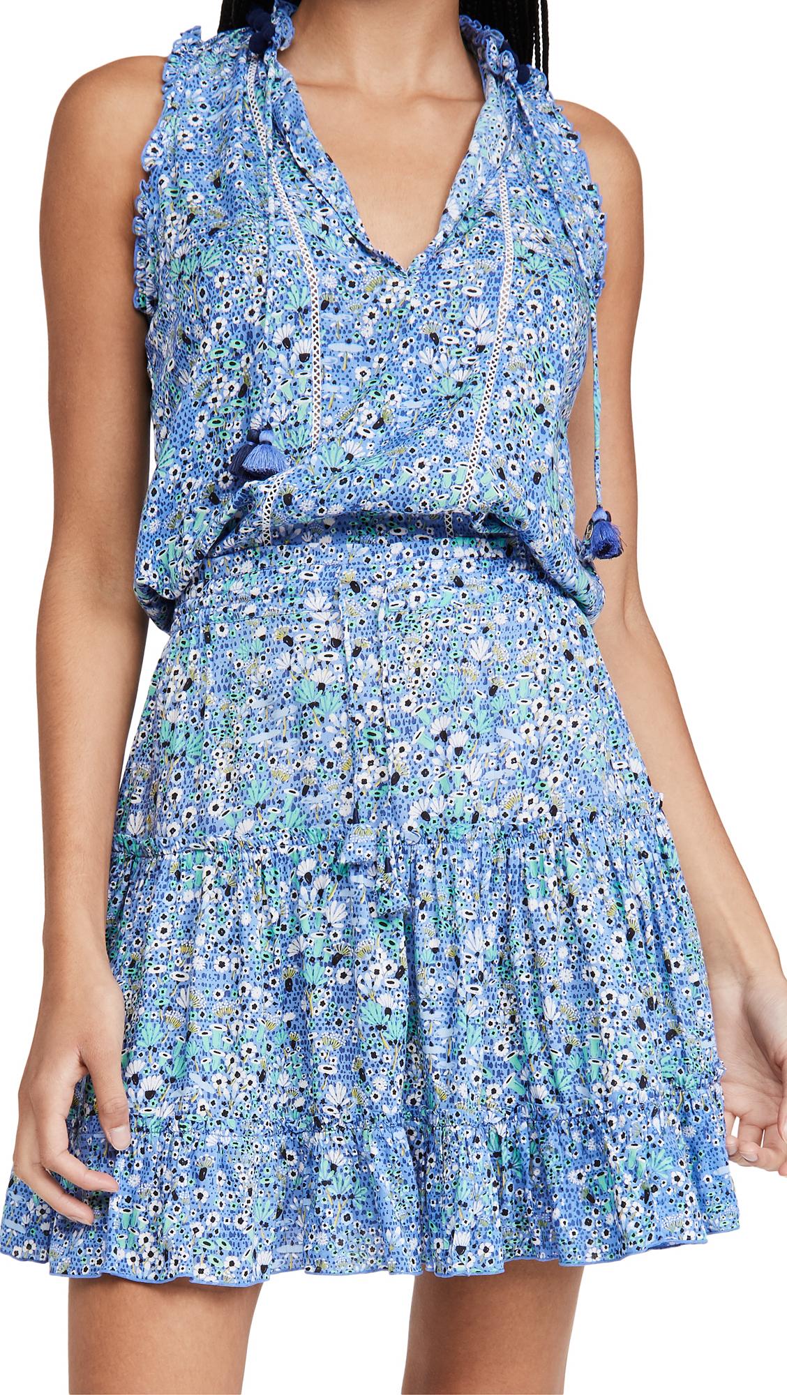 Poupette St Barth Clara Ruffled Mini Dress