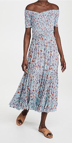 Poupette St Barth - Soledad Off Shoulder Dress
