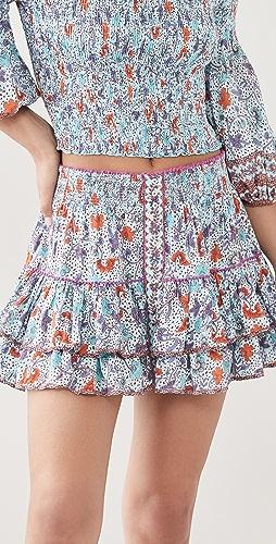 Poupette St Barth - Camilla Ruffled Mini Skirt
