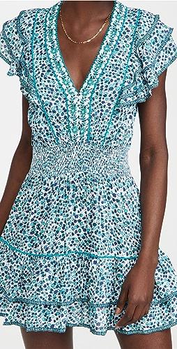 Poupette St Barth - Camila Ruffled Mini Dress