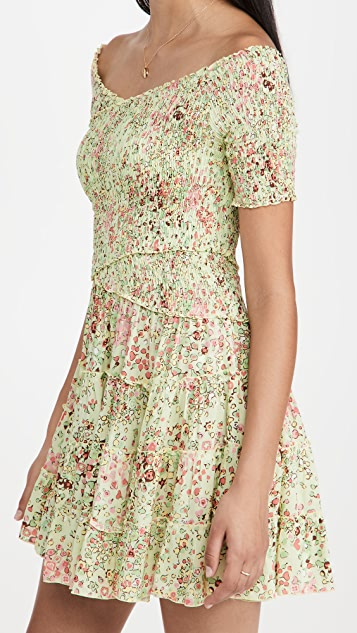 Poupette St Barth Mini Dress Soledad Dress