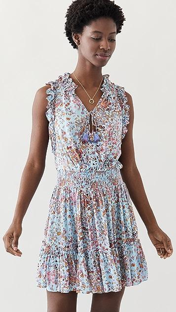 Poupette St Barth Triny Ruffled Mini Dress