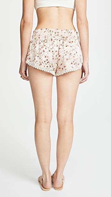 PALOMA BLUE Floral Shorts
