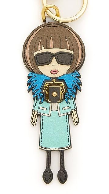 Paula Cademartori Miss Editor Keychain