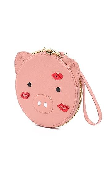 Patricia Chang Pig Wristlet