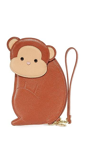 Patricia Chang Monkey Wristlet