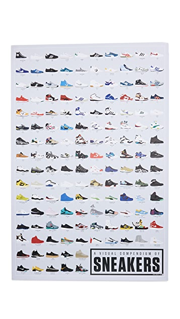 Pop Chart Lab A Visual Compendium Of Sneakers