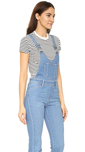 PAIGE Rialta High Rise Flare Overalls