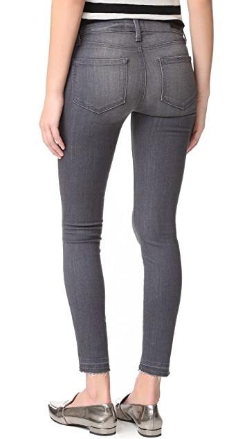 PAIGE Verdugo Ankle Jeans with Undone Hem