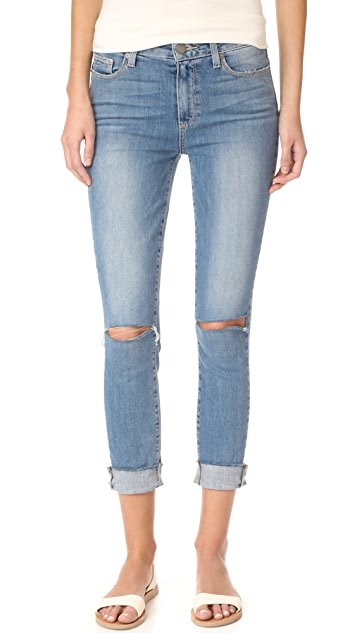 PAIGE Hoxton Crop Skinny Jeans
